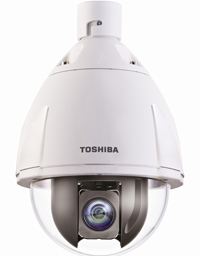 Example of a CCTV security camera